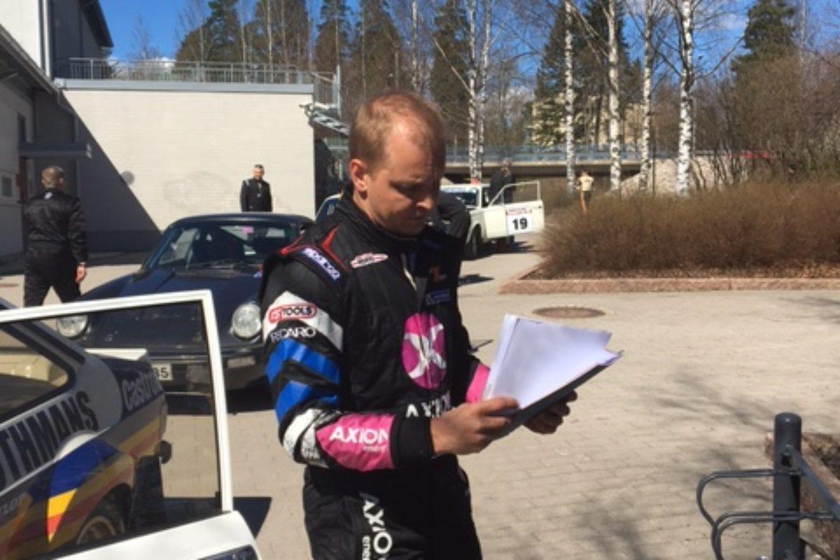 Mikko Hirvonen nåhdään pitkästä aikaa kotimaan sorateillä